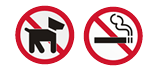 Sorry No Pets or Smoking Allowed